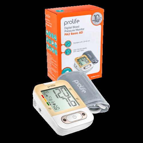 Prolife PA2 Basic AD Измеритель артериального давления автоматический с адаптером и манжетой 22-42см