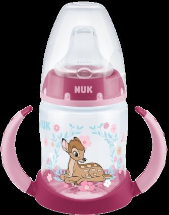 Бутылочка обучающая 150 мл, с сил Disney Bambi